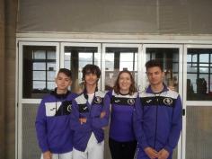El SAGU, presente en el Campeonato de España cadete