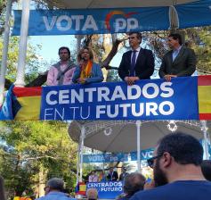 """Guarinos y Román piden el voto para el PP, """"el único que garantiza un futuro mejor para Guadalajara y para Castilla-La Mancha"""""""