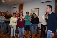 """Salinas cierra la campaña pidiendo el voto moderado """"para consolidar el mejor proyecto para Cabanillas"""""""