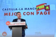 """García-Page anuncia que dejará las nuevas licencias de locales de juego """"en el congelador"""" hasta que se modifique la ley regional"""