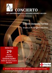 Concierto solidario del Orfeón Joaquín Turina este miércoles en el San José