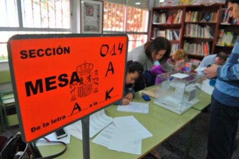 Valdeaveruelo, el municipio más madrugador de la jornada electoral del 26M