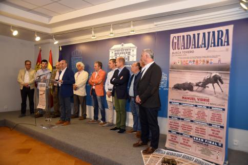 El IV 'Guadalajara busca torero' se iniciará este domingo en Albares y pasrá por 11 localidades