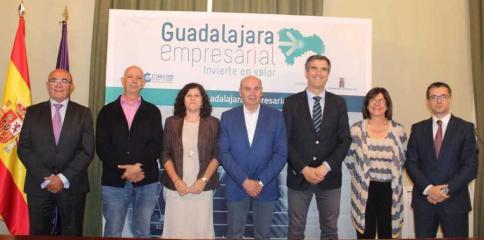 CEOE, Diputación y Ayuntamiento renuevan el convenio de 'Guadalajara Empresarial'