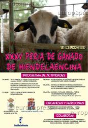 Hiendelaencina celebra este sábado la Feria del Ganado