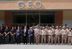 Los marines de Estados Unidos se entrenan con los GEO en Guadalajara