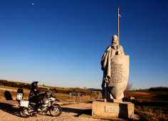 El lunes se abre el plazo para la inscripción del I Rally Mototurístico Camino del Cid