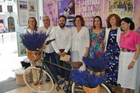 Brihuega despliega su atractivo estival con los colores y aromas de la Floración de la Lavanda