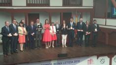 La Reina Letizia entrega en Almagro los premios del Real Patronato sobre Discapacidad