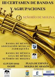 Duelo de bandas en Molina de Aragón