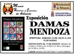 La exposición sobre el clan nobiliario de los Mendoza se podrá ver en Arbancón hasta el 11 de agosto