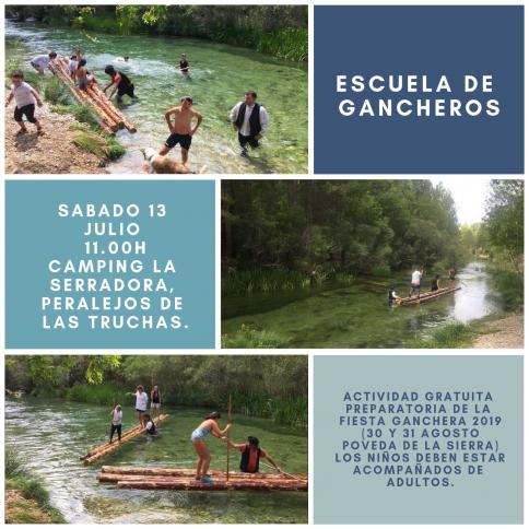 Escuela de Gancheros en Peralejos de las Truchas