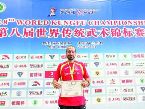 Mario Simón nos abre las puertas del KungFu, un deporte tan apasionante como desconocido