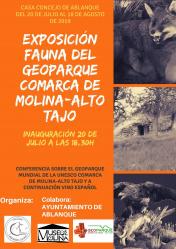 Ablanque inaugura una exposición sobre la fauna