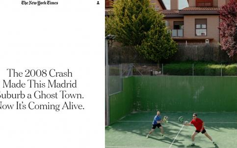 'The New York Times' comprueba que Valdeluz ha dejado de ser una ciudad fantasma
