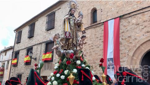 Gran participación de los molineses en los actos de la festividad del Carmen en la capital del Señorío