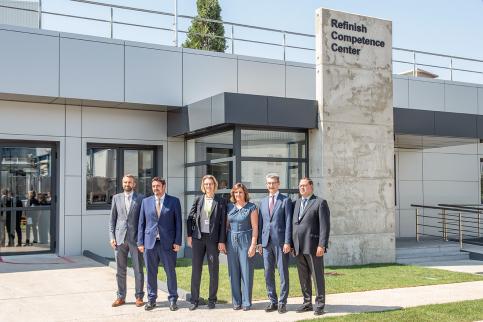 BASF invierte 2,5 millones en su centro de repintado de Marchamalo
