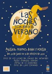 El ciclo 'Bailes bajo la luna' se traslada a la Plaza del Jardinillo hasta que La Concordia esté disponible