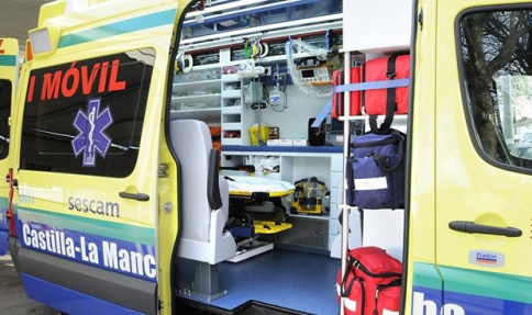 Tres heridos tras la colisión de dos turismos en Molina de Aragón