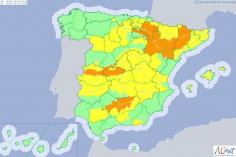 Las cinco provincias de C-LM estarán en alerta por calor este miércoles