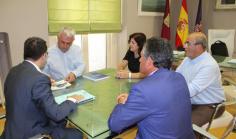Primera reunión de trabajo entre los presidentes de la Diputación y CEOE