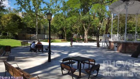 El  parque de la Concordia queda abierto al público