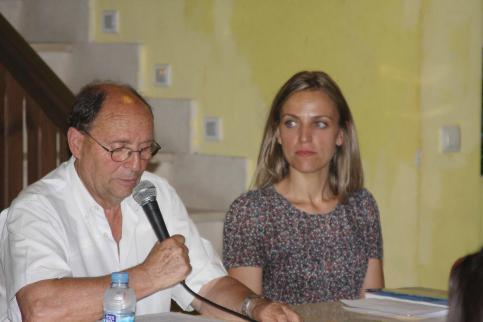 Luis-Gonzalo Carpintero presentó su libro 'Programas de las Fiestas de San Roque, Sigüenza de 1926 a 1985'