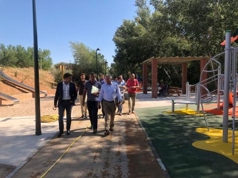 Recepcionadas las obras de  recuperación de la margen derecha de  la ribera del Henares