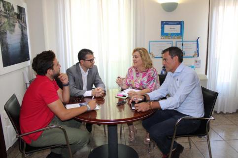 Los técnicos de Guadalajara Empresarial se reúnen con los ayuntamientos de Alovera y Yunquera para conocer el suelo industrial