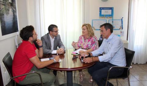 Los ayuntamientos de Alovera y Yunquera reciben la visita de los técnicos de 'Guadalajara Empresarial'