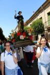 La ciudad del Doncel se rinde a su patrón, San Roque, en la recta final de sus fiestas
