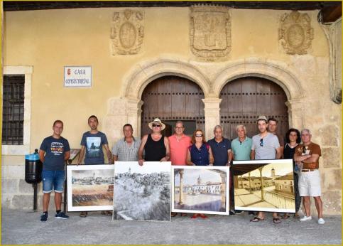 Mª Victoria Moreno gana el Certamen Nacional de Pintura en Fuentelencina