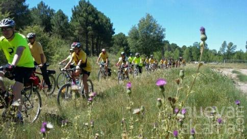 Este lunes 19 se celebra la XIII Ruta Cicloturista de los pueblos del incendio de los pinares del Ducado