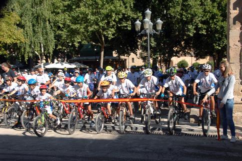 Participación récord en el Día de la Bicicleta de Sigüenza con más de 400 asistentes