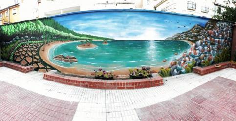 El grafiti como reclamo comercial en Guadalajara y alrededores