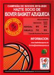 Isover Basket Azuqueca lanza este martes su campaña de socios