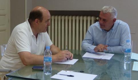 Cáritas y Diputación estudian nuevos proyectos para aumentar la cobertura asistencial en la provincia