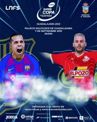 Barça y ElPozo se juegan en el Multiusos el primer título de la temporada