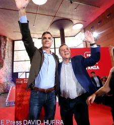 Sánchez exhibe la unidad del PSOE ante el