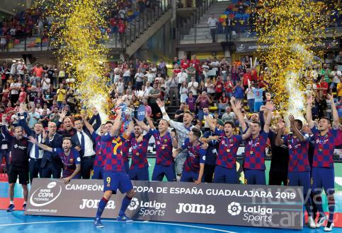 El Barça se corona supercampeón de España en Guadalajara