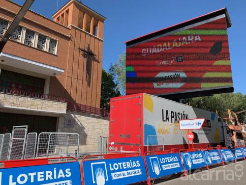 Guadalajara se pone guapa para recibir a La Vuelta