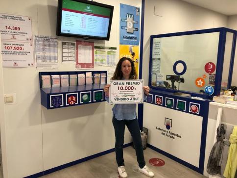 El Joker de la Primitiva deja 10.000 euros en Yunquera