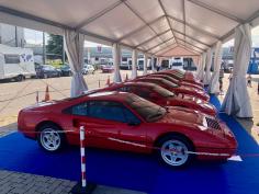 ITV CTM organiza una exposición de vehículos Ferrari con motivo de su reapertura