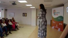 Mujeres de la provincia exponen sus proyectos en el Encuentro Imnova celebrado en Yebes