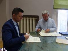 El Dínamo recibe el apoyo de la Diputación Provincial