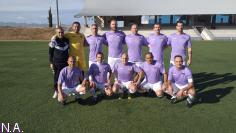 Los veteranos del Deportivo se llevan el derbi ante el Alovera