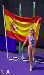 Aimara Fajardo, campeona de España por conjuntos