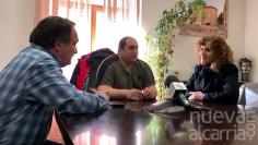 Visita institucional de Pilar Cuevas a Molina de Aragón