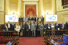 Gobierno, Senado y FEMP rinden homenaje a los alcaldes de Matillas y Arroyo de Fraguas