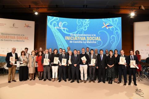 La Junta entrega, este miércoles, los Reconocimientos a la Iniciativa Social, en Guadalajara